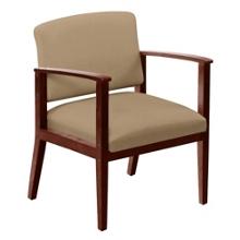 Oversized Vinyl Guest Chair, 75440
