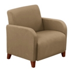 Oversized Vinyl Guest Chair, 75447