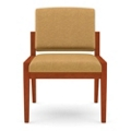 Armless Guest Chair in Fabric, 75468