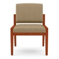Armless Guest Chair in Vinyl, 75469