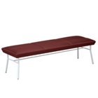 Uptown Three-Seat Bench in Premium Upholstery, 75483