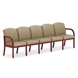 Five Seat Vinyl Sofa, 75513
