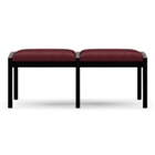 Two Seat Bench in Fabric, 75529