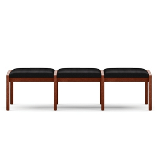 Three Seat Bench in Fabric, 75530