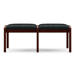 Two Seat Bench in Vinyl, 75544