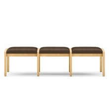 Three Seat Bench in Vinyl, 75545