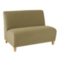 Armless Fabric Loveseat, 75586