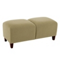 Two-Seat Bench in Fabric, 75600