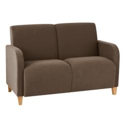 Vinyl Two Seat Sofa, 75613