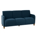 Antimicrobial Vinyl Three Seat Sofa, 75616