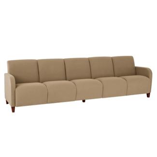 Vinyl Five Seat Sofa, 75622