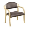 Polyurethane Bentwood Frame Bariatric Stack Chair , 75671