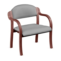 Fabric Bentwood Frame Bariatric Stack Chair, 75672
