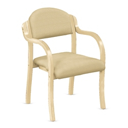 Fabric Bentwood Frame Stack Chair, 75676