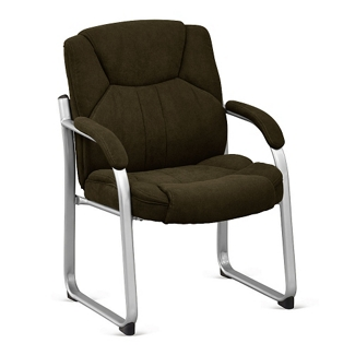 Omega Fabric Guest Chair with 350lb. Weight Capacity, 75761