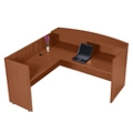 Reception L-Desk with Left Return, 76012