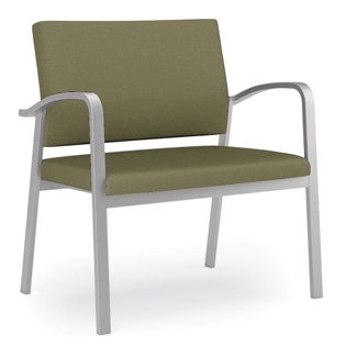 750 lb. Capacity Solid Fabric Bariatric Guest Chair, 76035