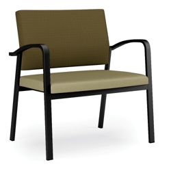 750 lb. Capacity Bariatric Guest Chair with Antimicrobial Vinyl Seat, 76036