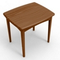 Rectangular End Table, 76057