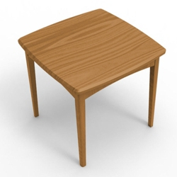 Square End Table, 76058