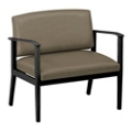 Mason Street Polyurethane Bariatric Guest Chair with Arms, 76087