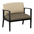 Mason Street Fabric or Polyurethane Bariatric Chair, 76088