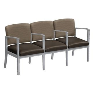 Mason Street Three Seater with Center Arms, 76113