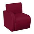 Synergy Collection Fabric Right Arm Chair , 76172