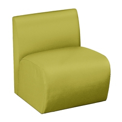Synergy Collection Fabric Armless Chair, 76173