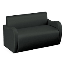 Synergy Collection Fabric Loveseat with Arms , 76174