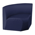 Synergy Collection Fabric Armless Corner Chair, 76182