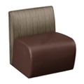 Synergy Collection Polyurethane or Combination Armless Chair , 76188