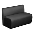 Synergy Collection Polyurethane or Combination Armless Loveseat , 76192
