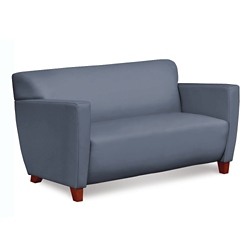 Edge Collection Polyurethane Loveseat with Extra Thick Seat, 76210