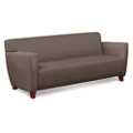 Edge Collection Polyurethane Sofa with Extra Thick Seat, 76211
