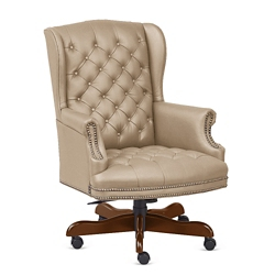 Monroe Faux Leather Wing Back Executive Chair, 76221
