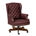 Monroe Leather Wing Back Executive Chair, 76222