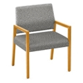 "Oversized Fabric Guest Chair - 26.5""W x 23.5""D, 76285"