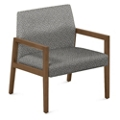 "Fabric Lounge Chair - 27""W x 28.5""D, 76287"