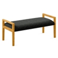 "Fabric Two Seat Bench - 48""W x 20.5""D, 76289"