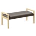 "Polyurethane Two Seat Bench - 48""W x 20.5""D, 76306"