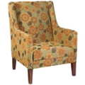 Fabric Guest Chair with Wood Legs, 76320