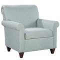 Fabric Upholstered Guest Chair with Wood Legs, 76323
