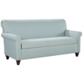 Fabric Upholstered Sofa with Wood Legs, 76326