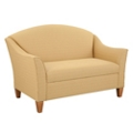 Fabric Upholstered Loveseat, 76338