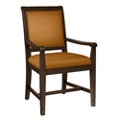 Fabric Dining Chair with Wood Frame, 76353