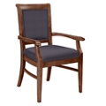 Fabric Dining Chair with Wood Frame, 76368