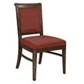 Fabric Armless Dining Chair with Wood Frame, 76369