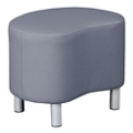 """Gather Small Faux Leather Seat - 24""""W x 18""""D, 76425"""