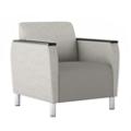 Modular Vinyl Club Chair, 76441